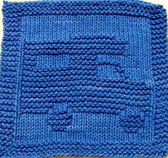Knitting  Cloth Pattern  -  CAMPER  -  PDF