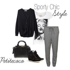 """""""Sporty Chic Style"""" by petitecoco20 on Polyvore"""