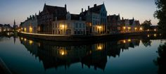 When one imagines Belgium, they often are thinking of Bruges. Canals loop across the town like a string of pearls. Come and discovery Bruges, you'll like it Romantic Getaway, Most Romantic, Romantic Travel, Wonderful Places, Great Places, Beautiful Places, Amazing Places, Places To Travel, Places To Go