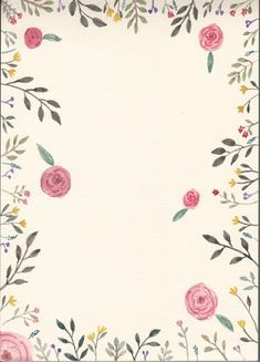 FLOWER FLOWER: 따라그려본 장미와 나뭇잎 리스