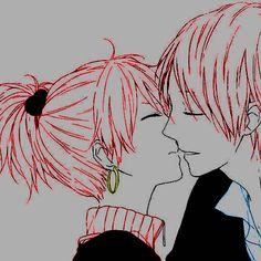 #animecouple #kiss #ToukoWhiteGraphic #Coloredbyme  Ita: Se la prendi, mettere i crediti.. grazie.  Eng: If you take it, put the credits.. thanks.