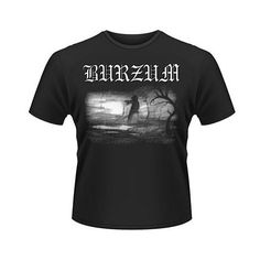 Burzum Burzum Album Cover T-Shirt - New Arrivals Metal T Shirts, Biker Gear, Black Series, Marvel Legends, Album Covers, Geek Stuff, Metalhead, Suits, Hoodies