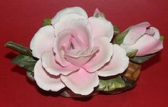 Capodimonte Italian Porcelain in Detail: Flower Figurines and Other Floral Designs