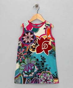 Take a look at this Turquoise Floral Bella Shift Dress - Infant, Toddler & Girls by Alejandra Kearl Designs on #zulily today! On SALE from 10/17-10/20/12 at 6am.    Love this print!
