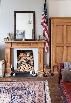 All-american rustic style