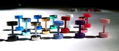 Screw Stud Earrings Round Colored Earrings Post Round