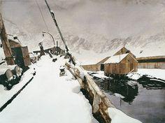 Grytviken - Acquarello