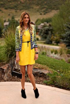 9 - Yellow Party Dress