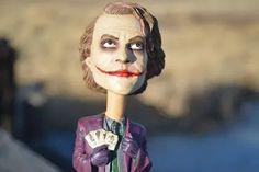 HD wallpaper: close-up photography of The Joker figurine, heath ledger, batman