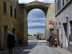 Castiglione del Lago, Umbria, Italia