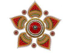 Kundan Acrylic Rangoli buy online from India.
