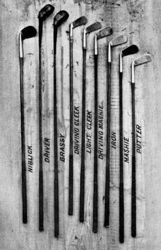7.e Harry Vardon's Golf Clubs he used in his greatest match that he will face in the British Open.