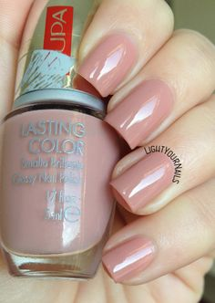 Pupa Lasting Color 206 Mistery Pink #nudenails #lightyournails