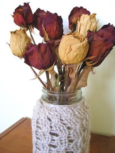 love the idea of using dried roses!!!!
