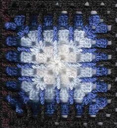 Trebling Granny Square - Free Crochet Pattern - pattern by Amelia Beebe