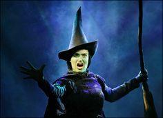 "Idina Menzel in ""Wicked"": Broadway, 2003"