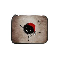 "Dark Evil Christmas Bug 13"" Laptop Sleeve $27.95 #laptop #laptopsleeve #sleeves"