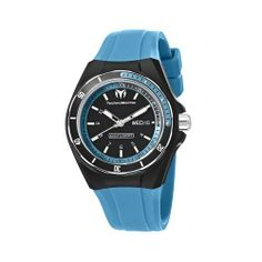 TechnoMarine Unisex 110014 Cruise Sport 3 Hands Black and Blue Dial Watch TechnoMarine. $168.00. Black cover and black silicone strap. Black and blue dial. Water-resistant to 660 feet (200 M). 3 hands 40 mm aluminum bezel. Comes with and extra silicone strap