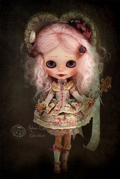 Ogresse by Rebeca Cano ~ Cookie dolls, www.cookie-dolls.com