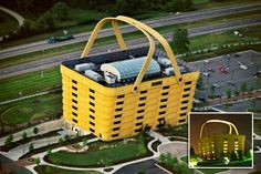 Longaberger Baskets corporate headquarters in Dresden, O