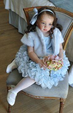 Aloenka Reborn Vinyl Doll Kit by Natali Blick Reborn Child, Reborn Toddler Girl, Child Doll, Reborn Babies, Custom Reborn Dolls, Reborn Doll Kits, Baby Dolls For Toddlers, Real Life Baby Dolls, Real Doll