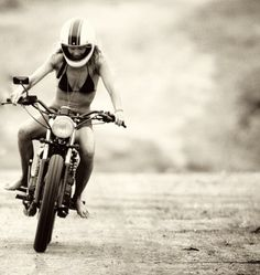 On the road in motorcycle ... J-6