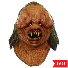 Our Nightbreed Berserker Monster Mask will have all the trick-or-treaters going berserk! This Nightbreed Berserker Monster Mask features attached faux hair. Scary Halloween Masks, Scary Clown Mask, Scary Costumes, Scary Clowns, Halloween Looks, Adult Costumes, Halloween Costumes, Halloween Ideas, Halloween Decorations