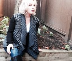 The favourite Fall Sweater: Lady Dutch houndstooth cardigan