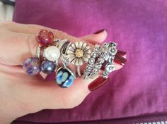 A collection of rings shown on Trollbeads Gallery Forum! http://trollbeadsgalleryforum.ning.com/