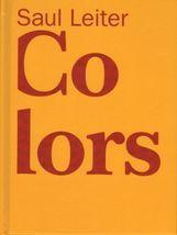 SAUL LEITER. COLORS - Librería Loring Art