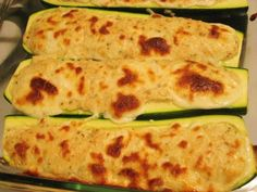 Stuffed Zucchini with Spicy Eggplant Ragout