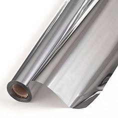 Metallic Silver Background Material, Metallic Silver Sheeting