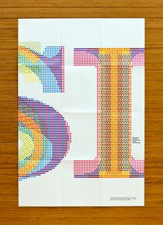 """Typographic poster series promoting the Bill Bernbach Diversity Scholarship. Each of the x posters were designed using a different technique of layering typography in order to capture the idea that """" Diversity Makes Everything More Interesting"""". Typography Love, Lettering, Typography Inspiration, Typography Letters, Graphic Design Inspiration, Karel Martens, Schrift Design, Poster Design, Communication Art"""