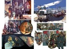 comic pages by Greg Tocchini