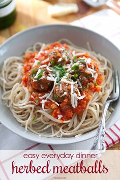 This simple beef meatball recipe is easy enough for any weekday but delicious enough for a special occasion, too. Freeze a batch for a fast-fix dinner! Chef Recipes, Appetizer Recipes, Dinner Recipes, Cooking Recipes, Healthy Recipes, Recipies, Dinner Ideas, Appetizers, 30 Minute Meals
