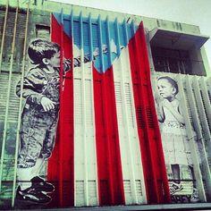 """""""El arte callejero"""" de ABEY CHARRON Santurce, Puerto Rico"""