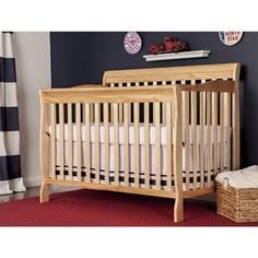 Shop for Dream On Me Ashton Natural Wood 5-in-1 Convertible Crib and more for everyday discount prices at Overstock.com - Your Online Furniture Store!