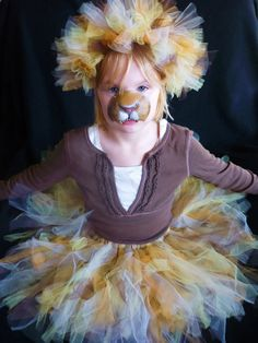 """my child is insisting on """"real fur"""" but this is a great concept for a lion."""