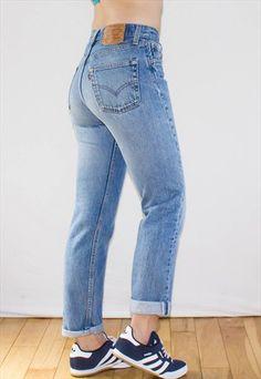 Vintage 90's Levi High Waist Stonewash Jeans