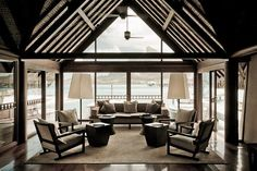 Four Seasons Resort Bora Bora lobby