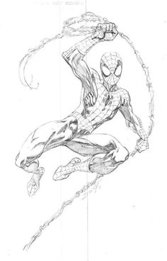 First Look at Spidey's New Threads in The Amazing Spider-Man 2 Spiderman Drawing, Spiderman Art, Amazing Spiderman, Spiderman Poses, Marvel Ultimate Spider Man, Mark Bagley, Marvel Drawings, Dragon Art, Marvel Art