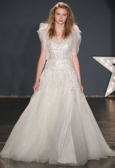 The Most Fairy Tale-Worthy Wedding Dresses at Bridal Fashion Week - Jenny Packham from InStyle.com