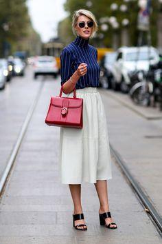 Best Street Style at Milan Fashion Week Spring 2015