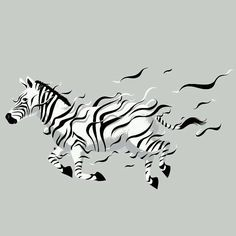Now, I will be more... (1).  #artist : #chowhonlam  #art #artwork #illust #illustration #illustrator #modernart #artprint #pattern #stripes #spot #animal #zebra #horse #bw #surreal #surrealart #surrealism #blackandwhite #runner #run #wildlife #rosediana #rosedianadiary #rosedianagallery