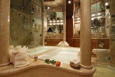 luxusní koupelny - Hledat Googlem Bathtub, Bathroom, Standing Bath, Washroom, Bathtubs, Bath Tube, Full Bath, Bath, Bathrooms