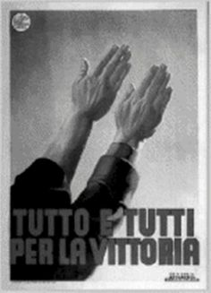 """Italian WW2  """"Everything and everyone for the win!"""""""