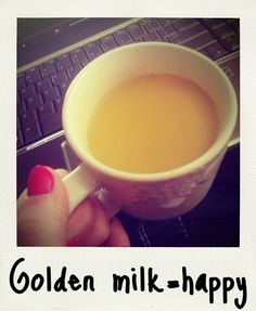 Make Your Own Golden Milk - WHAAAAA???!!! How am I just learning how easy this is to make?!