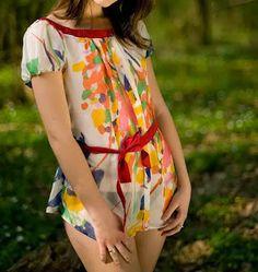 Patrón gratis: 2 modelos de blusa fácil