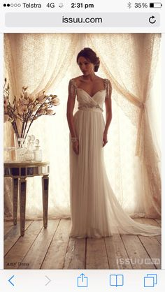 Anna Campbell Amy dress