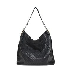 Ellington Sadie Woven Hobo in Black Hobo Purses, Hobo Handbags, Purses And Handbags, Hobo Bags, Ellington Handbags, Oxford Brogues, Travel Bags, Bag Accessories, Shoe Bag